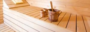 Teka Sauna für innen und außen
