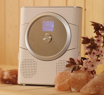Lautsprecher für Sauna