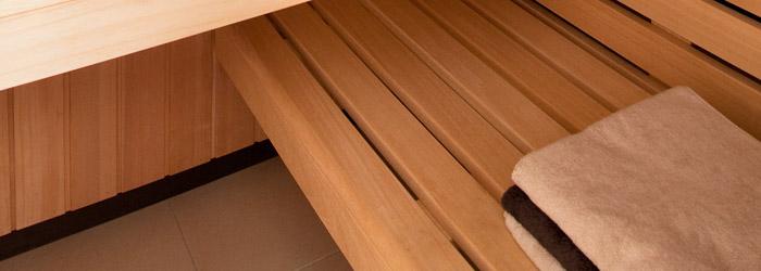 Sauna Einbau